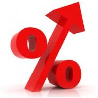 % increase