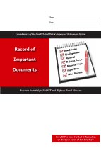 Record of Important Documents